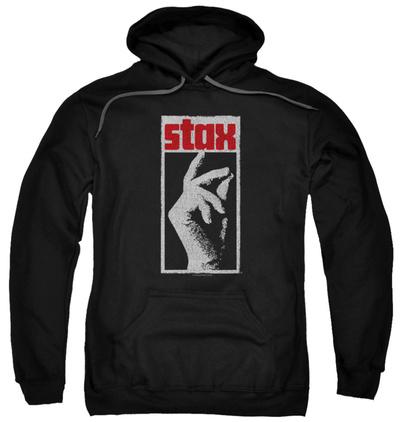 Hoodie: Stax - Distressed Pullover Hoodie