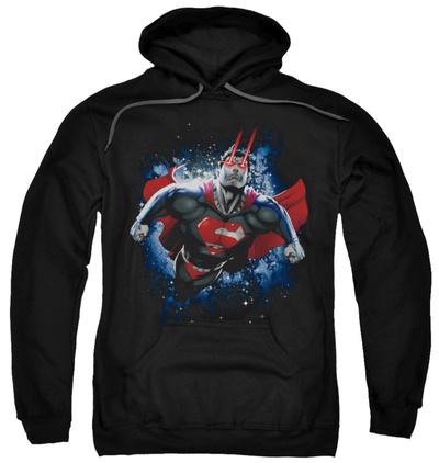 Hoodie: Superman - Stardust Pullover Hoodie