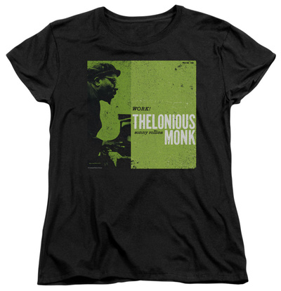 Womens: Thelonious Monk - Work T-Shirt