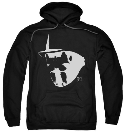 Hoodie: Watchmen - Mask And Symbol Pullover Hoodie