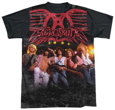 Aerosmith - Stage(black back) Sublimated