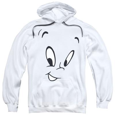 Hoodie: Casper - Face Pullover Hoodie