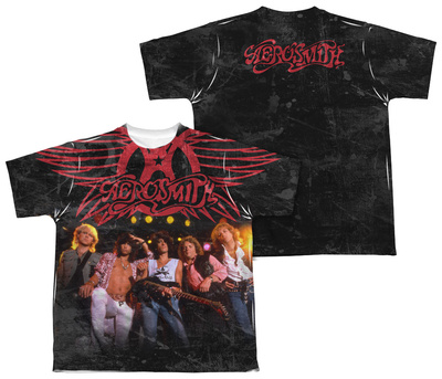 Youth: Aerosmith - Stage (Front/Back Print) Shirts