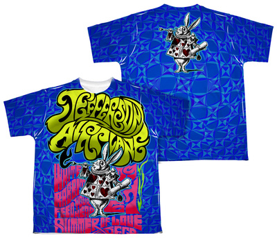 Youth: Jefferson Airplane - White Rabbit (Front/Back Print) Shirt