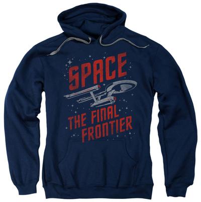 Hoodie: Star Trek - Space Travel Pullover Hoodie