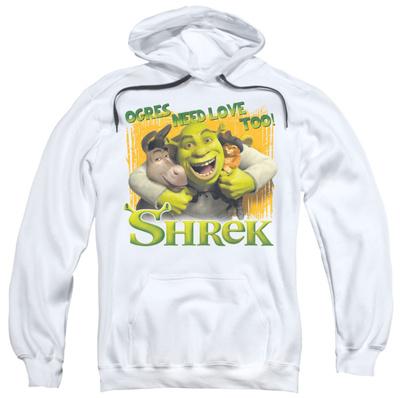 Hoodie: Shrek - Ogres Need Love Pullover Hoodie