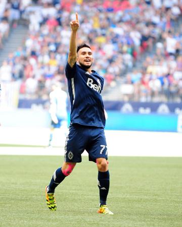 Jul 27, 2014 - MLS: FC Dallas vs Vancouver Whitecaps - Pedro Morales, Raul Fernandez Photo by Anne-Marie Sorvin