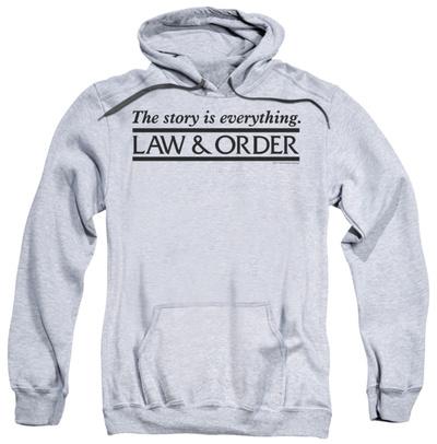 Hoodie: Law & Order - Story Pullover Hoodie