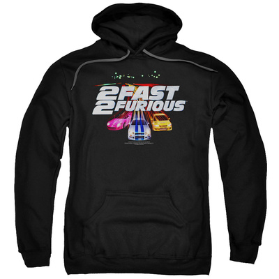 Hoodie: 2 Fast 2 Furious - Logo Pullover Hoodie