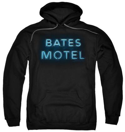 Hoodie: Bates Motel - Sign Logo Pullover Hoodie