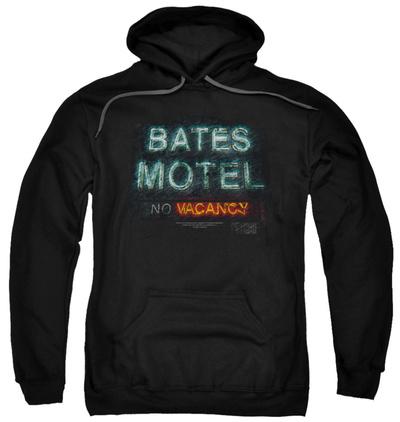 Hoodie: Psycho - Bates Motel Distressed Pullover Hoodie