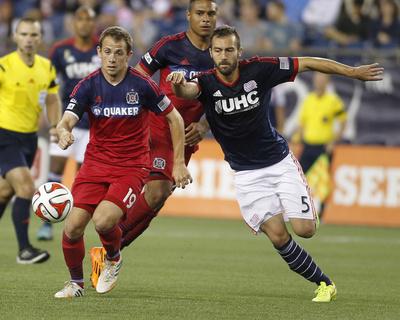 Sep 7, 2014 - MLS: Chicago Fire vs New England Revolution Photo by Stew Milne