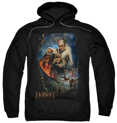 Hoodie: The Hobbit: The Desolation of Smaug - Thranduil's Realm Pullover Hoodie