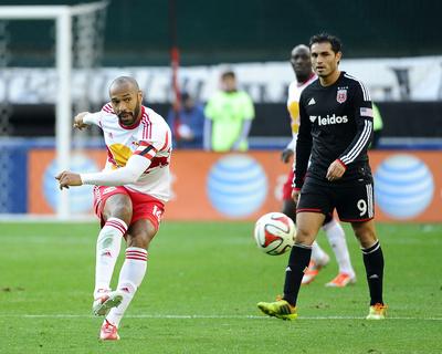 2014 MLS Playoffs: Nov 8, New York Red Bulls vs D.C. United - Thierry Henry Photo by Brad Mills