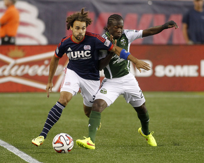 Aug 16, 2014 - MLS: Portland Timbers vs New England Revolution Photo by Stew Milne