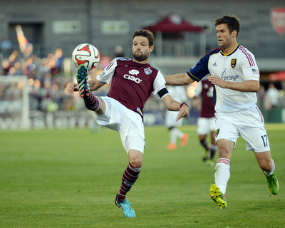 Aug 2, 2014 - MLS: Real Salt Lake vs Colorado Rapids - Drew Moor Photo by Ron Chenoy