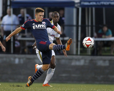2014 MLS U.S. Open Cup: Jun 25, Rochester Rhinos vs New England Revolution - Kelyn Rowe Photo by Stew Milne