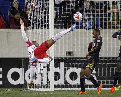 Apr 16, 2014 - MLS: Philadelphia Union vs New York Red Bulls - Thierry Henry Photo by Andy Marlin