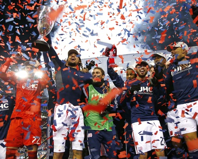 2014 MLS Eastern Conference Championship: Nov 29, Red Bulls vs Revolution - Jermaine Jones Photo by Winslow Townson