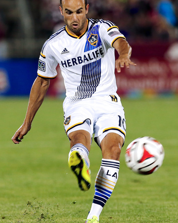 Aug 20, 2014 - MLS: Los Angeles Galaxy vs Colorado Rapids - Landon Donovan Photo by Isaiah J. Downing