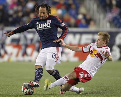 2014 MLS Eastern Conference Championship: Nov 29, Red Bulls vs Revolution - Dax McCarty Foto af Stew Milne