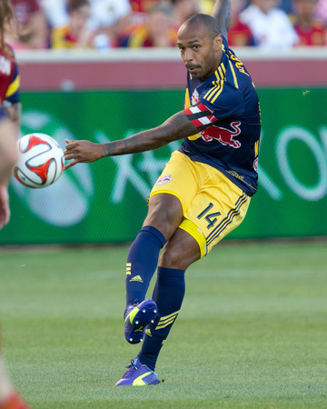 Jul 30, 2014 - MLS: New York Red Bulls vs Real Salt Lake - Thierry Henry Photo by Russell Isabella
