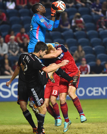 Sep 20, 2014 - MLS: D.C. United vs Chicago Fire - Sean Johnson Photo by Mike Dinovo