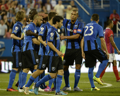 2014 MLS Champions League: Aug 5, FAS vs Montreal Impact - Felipe Martins Photo by Eric Bolte