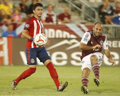 Jul 25, 2014 - MLS: Chivas USA vs Colorado Rapids - Nick LaBrocca Photo by Chris Humphreys