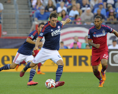 Jul 12, 2014 - MLS: Chicago Fire vs New England Revolution - Andy Dorman Photo by Bob DeChiara
