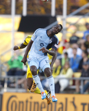 Jul 16, 2014 - MLS: Sporting KC vs Columbus Crew - C J Sapong Photo by Joseph Maiorana