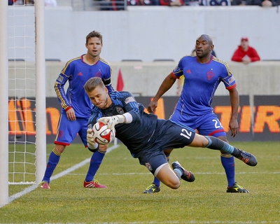 Mar 15, 2014 - MLS: Colorado Rapids vs New York Red Bulls - John Berner, Thierry Henry Photo by Jim O'Connor