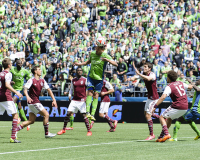 Apr 26, 2014 - MLS: Colorado Rapids vs Seattle Sounders - Clint Dempsey Photo by Steven Bisig