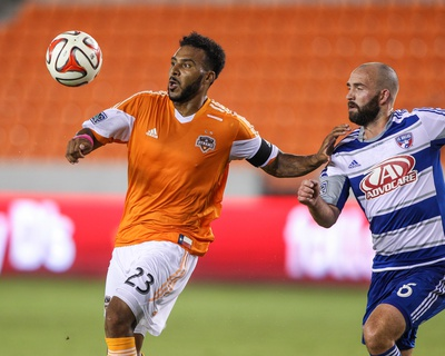 2014 MLS U.S. Open Cup: Jun 24, FC Dallas vs Houston Dynamo - Giles Barnes Photo by Troy Taormina