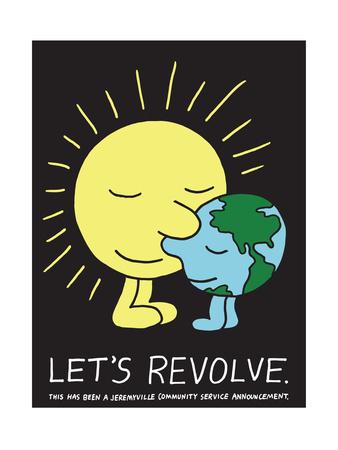 Jeremyville: Lets Revolve Prints by  Jeremyville