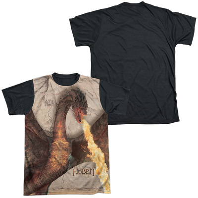 The Hobbit: The Battle of the Five Armies - Smaug Attack(black back) T-shirts