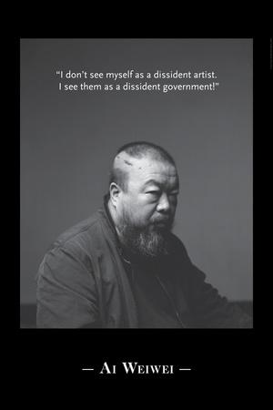 Portrait BW 5 Photo by Ai Weiwei