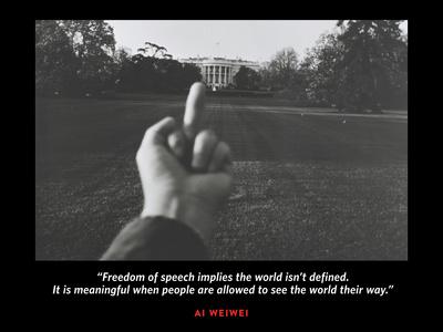 White House B Photo by Ai Weiwei