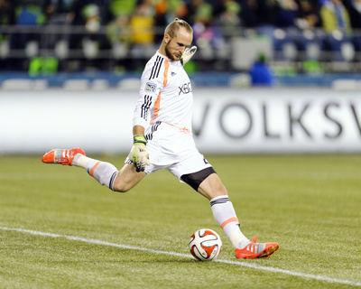 2014 MLS Playoffs: Nov 10, FC Dallas vs Seattle Sounders - Stefan Frei Photo by Steven Bisig