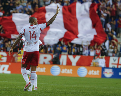 Aug 23, 2014 - MLS: Montreal Impact vs New York Red Bulls - Thierry Henry Photo by Jim O'Connor