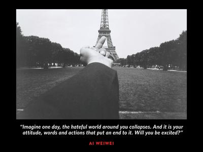 Eiffel Tower A Photo by Ai Weiwei