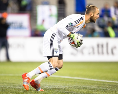 2014 MLS Playoffs: Nov 10, FC Dallas vs Seattle Sounders - Stefan Frei Photo by Joe Nicholson