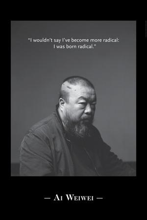Portrait BW 4 Photo by Ai Weiwei
