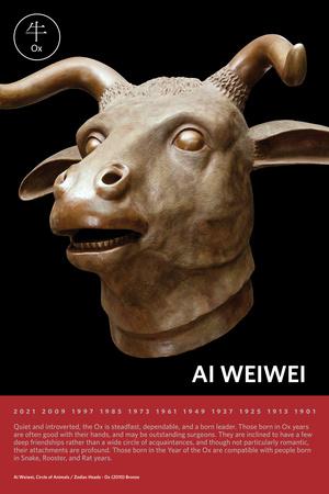 Zodiac Heads: Ox Photo by Ai Weiwei
