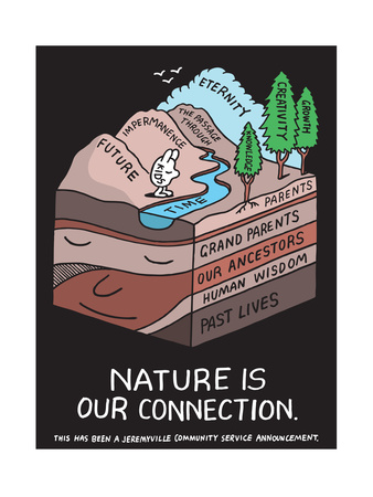 Jeremyville: Nature Is Our Connection Posters by  Jeremyville
