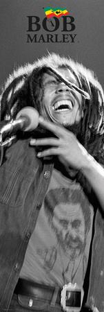 Bob Marley - Black & White Poster
