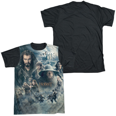 The Hobbit: The Battle of the Five Armies - Epic Poster(black back) T-shirts