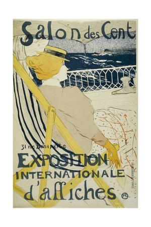 Salon Des Cent Giclee Print by Henri de Toulouse-Lautrec