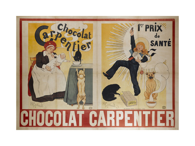 Advertising Poster Giclee Print by Henri Gerbault