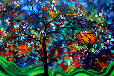 Shimmer In The Sky Prints by Megan Aroon Duncanson